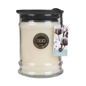 Vonná svíčka ve skleněné dóze s vůní bavlny Creative Tops, doba hoření 65 - 85 hodin