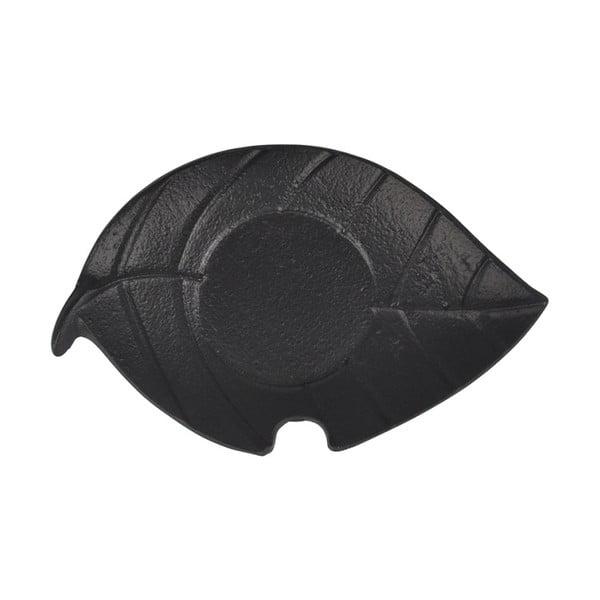 Suport pentru pahar Bambum Leaf, negru