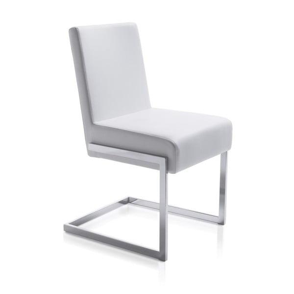 Biela jedálenská stolička Ángel Cerdá Leonor