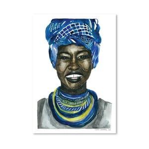 Plakát African Pride III, 30x42 cm
