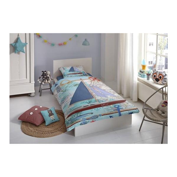 Dětské bavlněné povlečení Muller Textiels Aaron, 140 x 200 cm