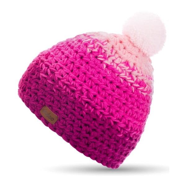 Ružová ručne háčkovaná čiapka DOKE Rose