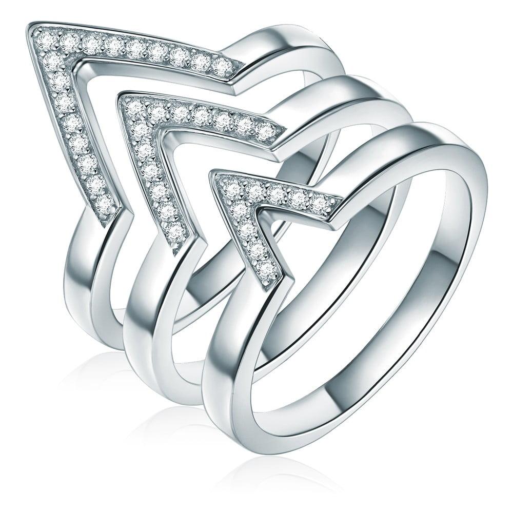 Trojitý prsten Ines Cavalera Luisa, vel. 58