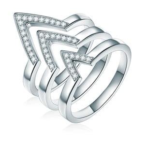 Trojitý prsten Ines Cavalera Luisa, vel. 52