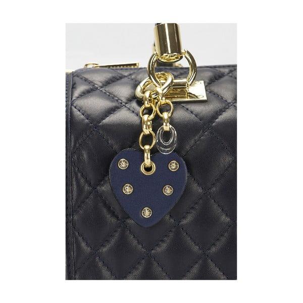 Kožená kabelka Giorgio Costa 15020 Blue