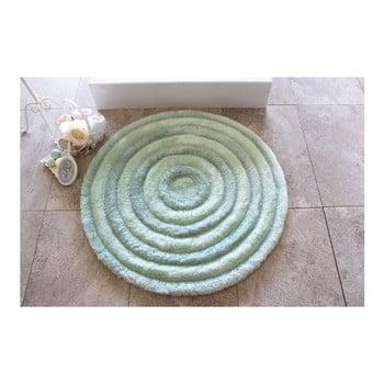 Covoraș de baie Confetti Bathmats Ecru, Ø 90 cm, albastru deschis de la Chilai Home by Alessia