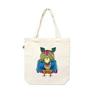 Plátěná taška Sova