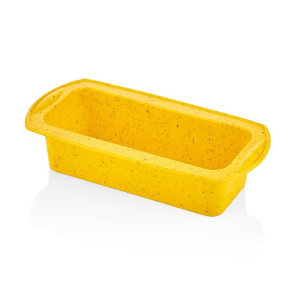 Žltá silikónová forma na pečenie The Mia Baton, dĺžka 28 cm