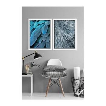 Set 2 postere cu ramă Piacenza Art Nature, 30 x 20 cm