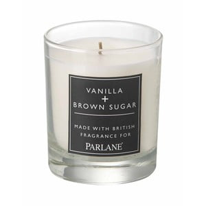 Svíčka ve skle Parlane Vanilla & Brown Sugar