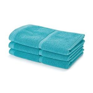 Tyrkysový ručník Aquanova Adagio, 30x50cm