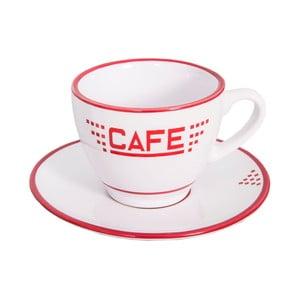 Ceașcă din ceramică Antic Line Cafe, alb