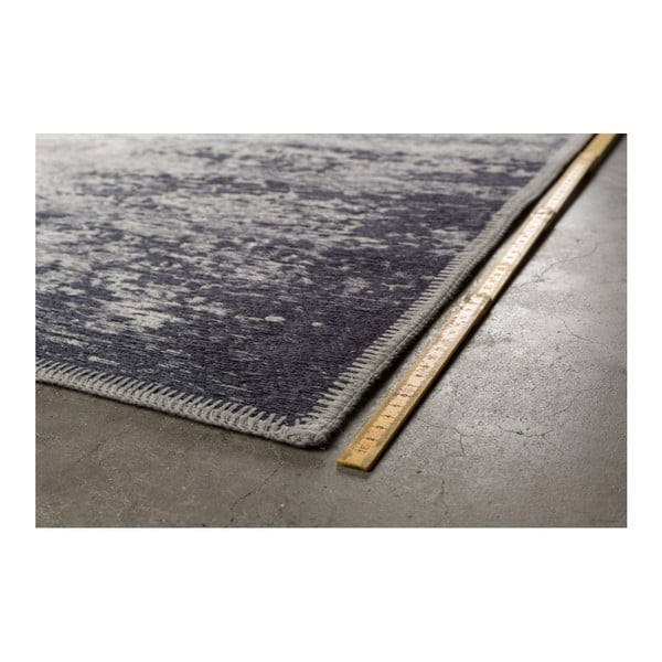 Modrý koberec Dutchbone Caruse, 200x300cm
