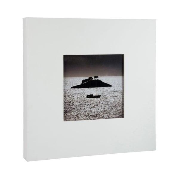 Fotorámeček Frame White, 40x40x5 cm
