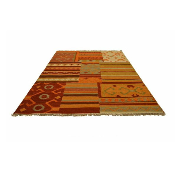 Ručně tkaný koberec Kilim Pitri, 120x180cm