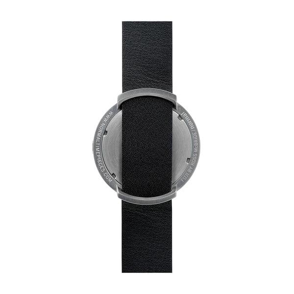 Hodinky Black Fuji Brown Leather, 43 mm