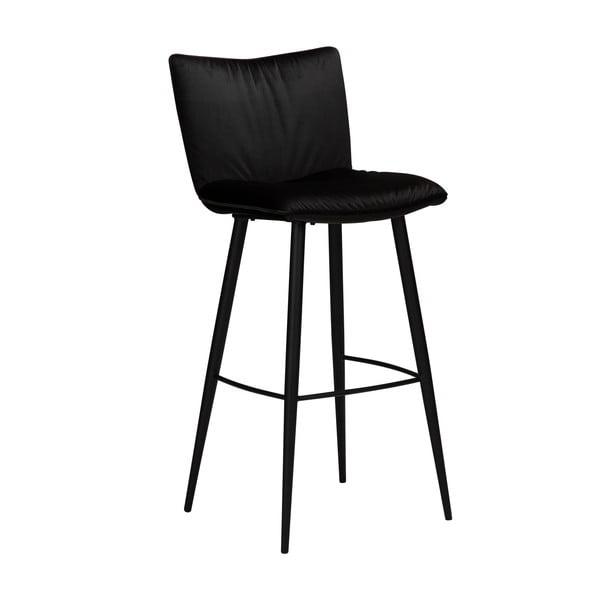 Černá sametová barová židle DAN-FORM Denmark Join