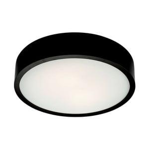 Černé kruhové stropní svítodlo Lamkur Plafond, ø 37 cm