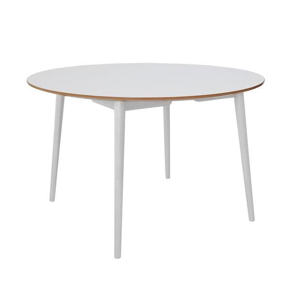 Jídelní stůl RGE Trim, bílá deska/bílé nohy