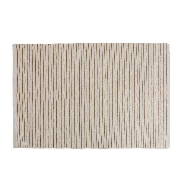 Koupelnová předložka Stripes Brown