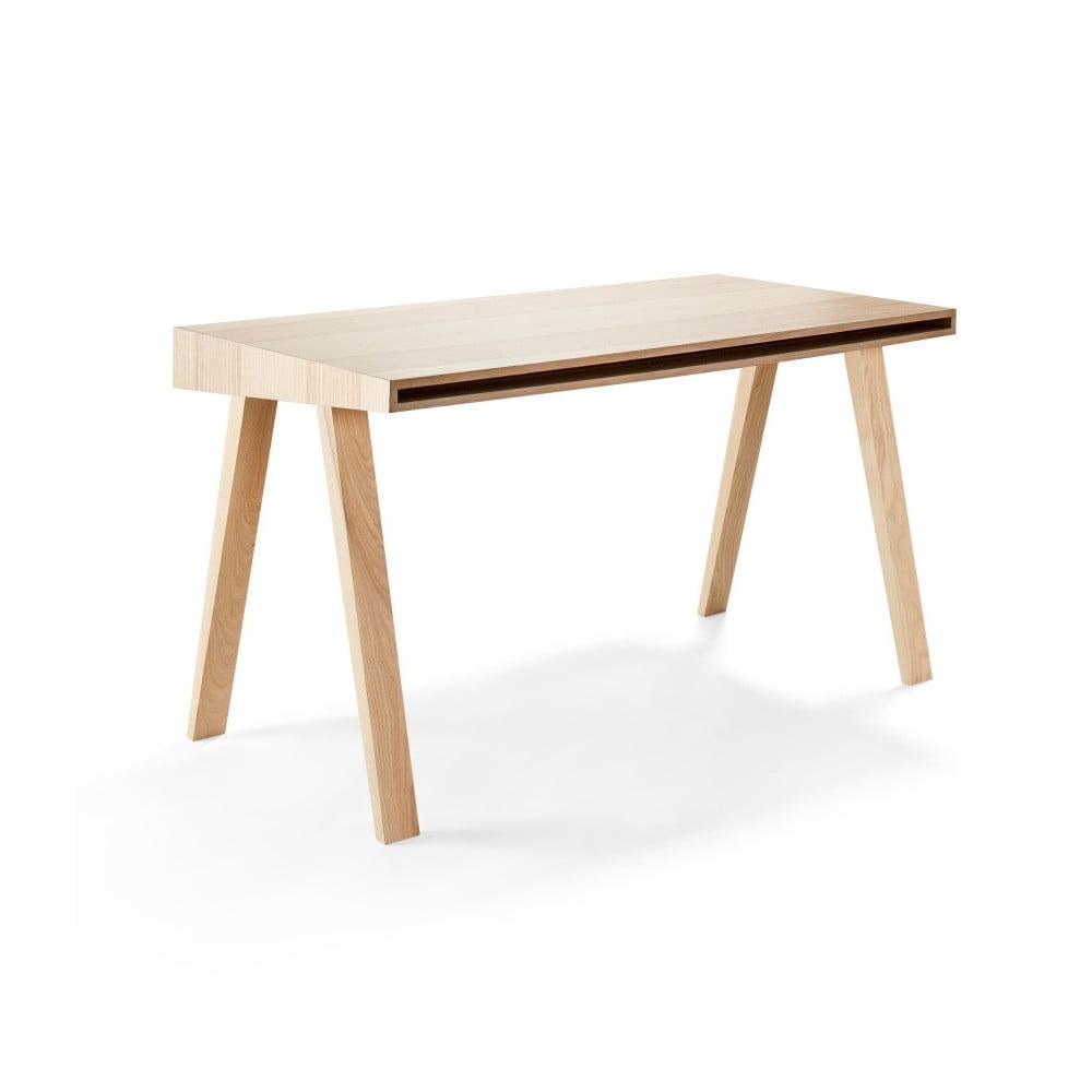 Psací stůl EMKO 4.9, 2 šuplíky, litevský jasan