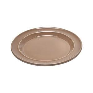 Béžový dezertní talíř Emile Henry,⌀ 21 cm