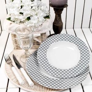 Porcelánový talířový set Classic, 24 ks