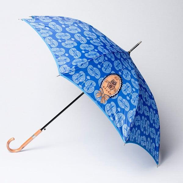 Deštník Alvarez Cashmere Blue Illustration