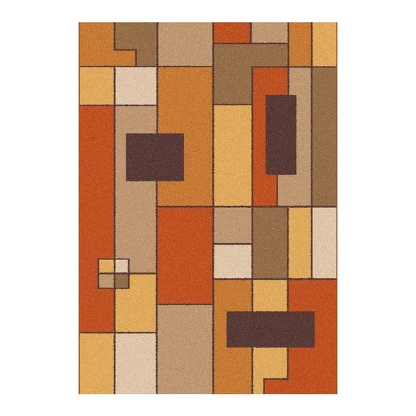 Oranžovohnědý koberec Universal Boras Rust, 190x280cm