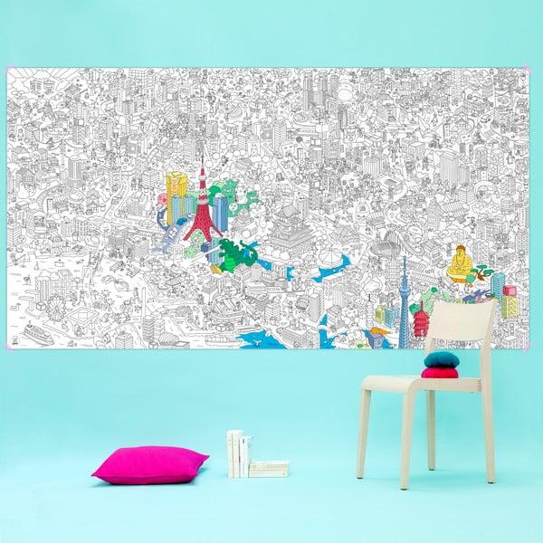 Omalovánka OMY Tokyo XXL (180 x 100 cm)