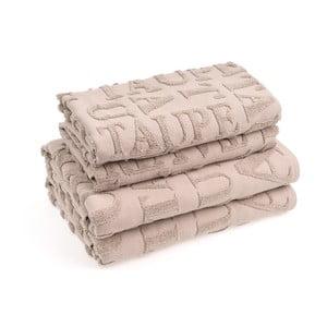 Sada 4 bavlněných ručníků Casa Di Bassi Ttypo