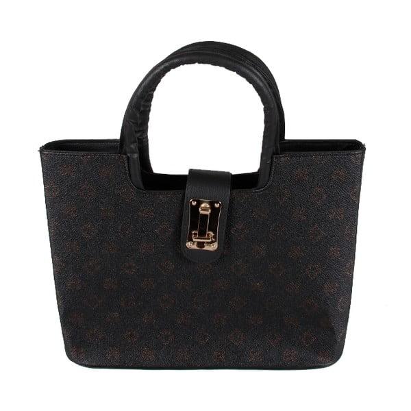 Kabelka Black Patterned Bag