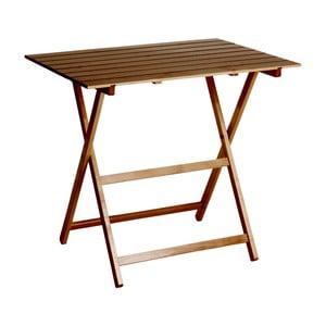 Skládací stůl z bukového dřeva Valdomo King 60 x 80 cm