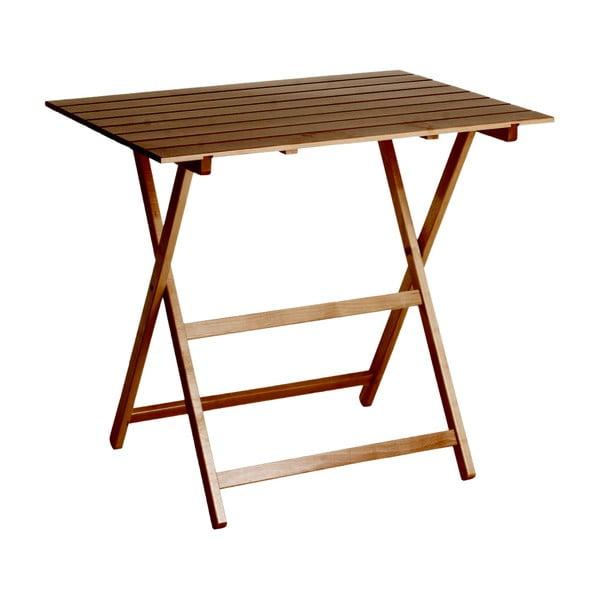Skládací stůl King 60x80 cm, ořech