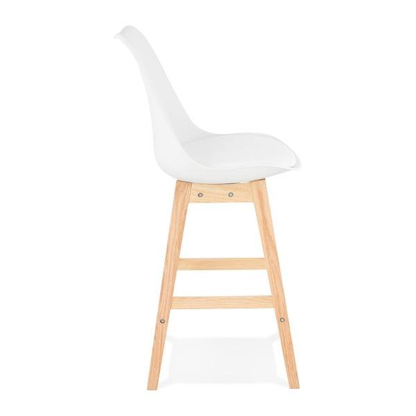 Bílá barová židle Kokoon April