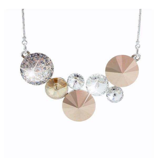 Náhrdelník s krystaly Swarovski® Yasmine Aslog Goldie