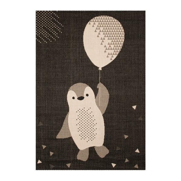 Covor pentru copii Zala Living Penguin, 120 x 170 cm