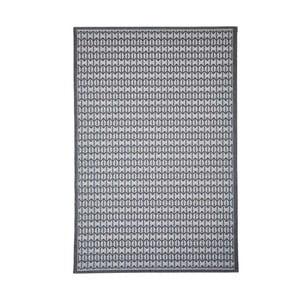 Šedý vysoce odolný koberec Webtappeti Stuoia,135x190cm
