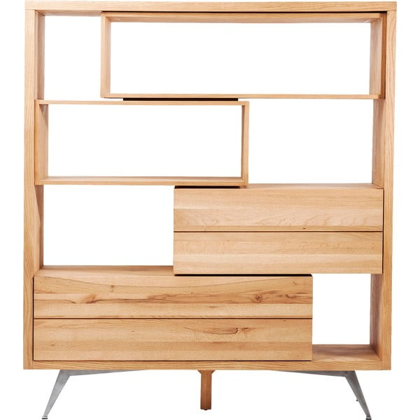 Police z dubového dřeva Kare Design Cube