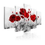 Obraz na plátně Artgeist Red Miracle 100x50cm