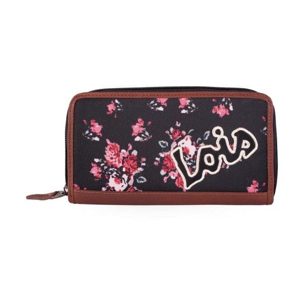 Peněženka Lois Roses, 19x9 cm