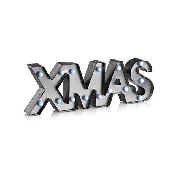 Čierna svetelná LED dekorácia Markslöjd Xmas