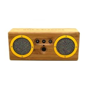 Přenosný bambusový speaker Yellow Blue & Orange Bongo