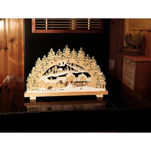 Svítící dekorace Warm Christmas