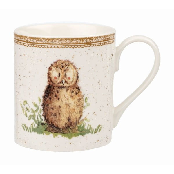 Set 4 hrnků Churchill China Wildlife, 250 ml