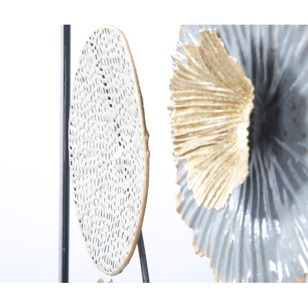 Decorațiune metalică pentru perete Mauro Ferretti Squity, 50x50cm