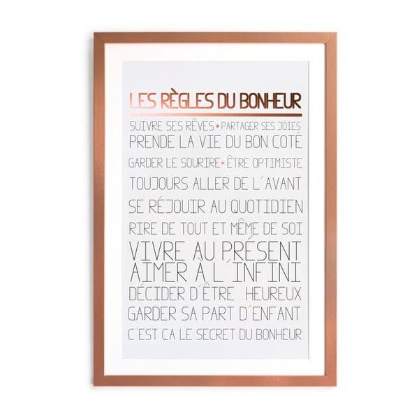 Zarámovaný plakát Really Nice Things Rules, 60 x 40 cm