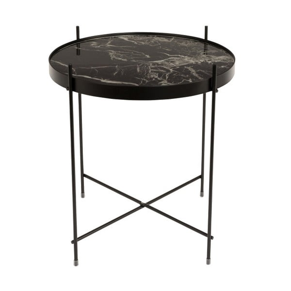 Černý odkládací stolek Zuiver Cupid