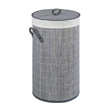 Coș din bambus pentru rufe Wenko Lilia, gri imagine