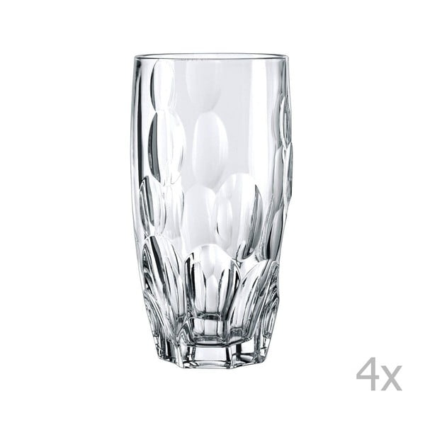 Sada 4 sklenic z křišťálového skla Nachtmann Sphere, 385ml